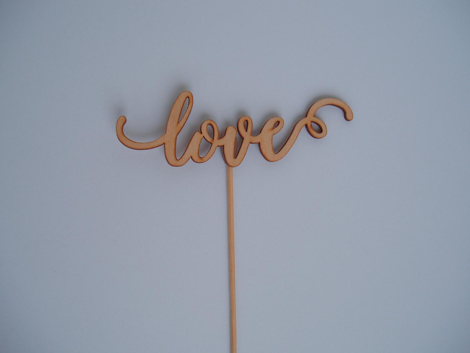 """zápich """"love"""" - Obrázek č. 1"""