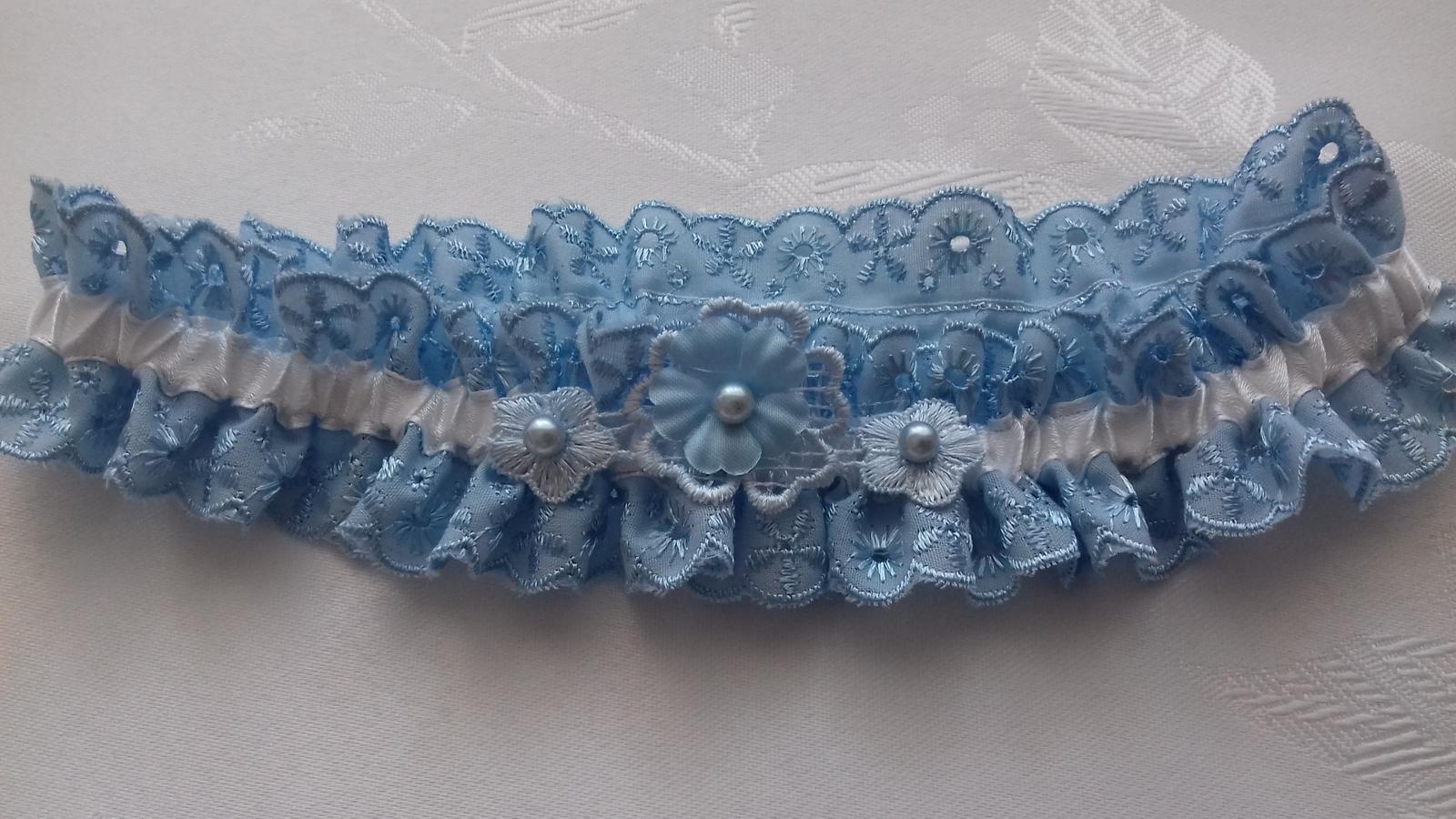 podvazek modrý - Obrázek č. 4