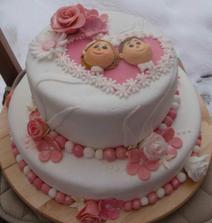 krásna tortička len by musela byť ovela väščia