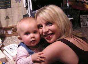 Já a moje jediná, nejmladší družička - neteř Nelinka