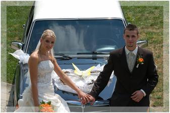 Svatební autíčko