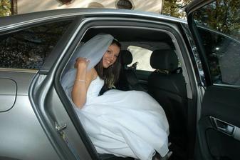 Nevěsta přijela