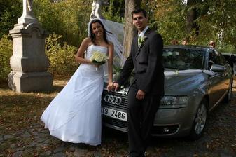 Auto nevěsty...