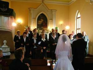 Učiteľský zbor - krásne spievali