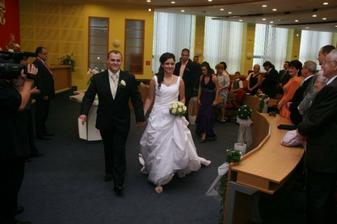 Už šťastný manželia :)