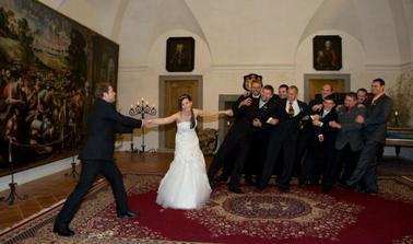 boj o nevěstu