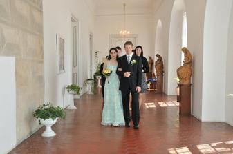 novomanželé Kadlecovi