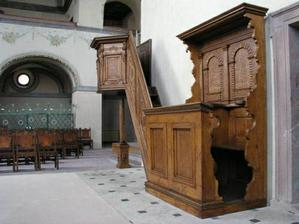 kaple vevnitř