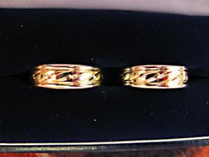 tohle jsou naše prstýnky :-)