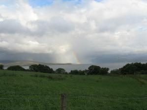 Duha na Skye (jak jsme záhy zjistili zcela běžná)
