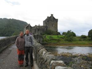 Eilean Donan Castle (ten, co tam natáčeli Highlandera)