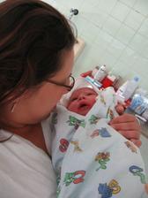 dne 8.9.2008 se nám narodila dcerka
