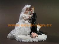 Figúrka na svadobnú tortu