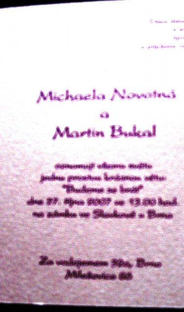 27.10.2007 M+M - Obrázek č. 25