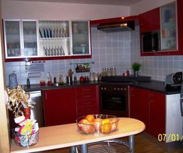 Kuchyň pohled z obyváku