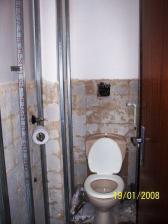 No spíš jak záchod to připominá staveniště