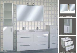 tak tuto koupelnu ( jen dvojumyvadla se skříňkou) jsme předběžně vybrali - intedoor new york