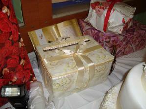 Krabica na naše finančné dary