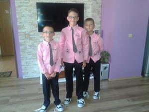 naši chlapečci připravený :)