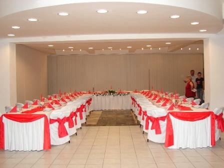 Inšpirácie a skutočnosť - Naša svadobná sála