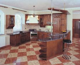 tahle kuchyň je jak do našeho domečku dělaná