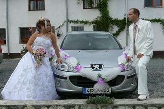 manželovo auti