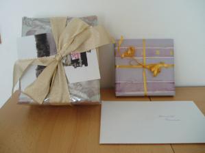 První svatební dary :-)