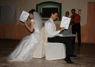 naši kamarádi prověřili naši připravenost na manželství...test kompatibility...