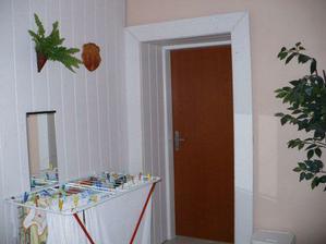 Vchod do našej izby.