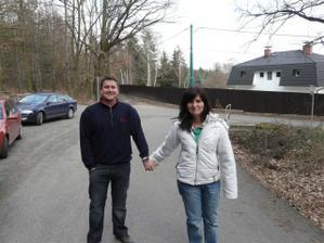 naše jarní procházka