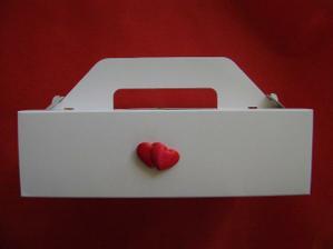 krabička na výslužky - detail