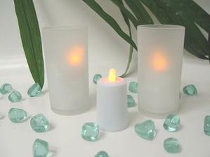 Kamínky,svíčky,