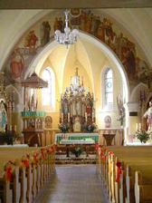 Kostel v Horní Lomné