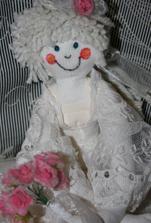 vlastní výroba panenka na auto :-)