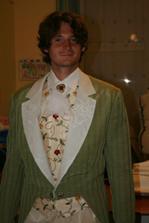 zkouška obleku ženicha