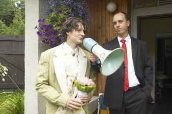 bráša Petr hlavní organizátor svatby s manželem