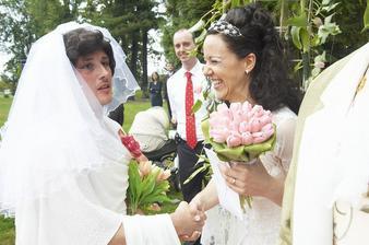 gratulace od falešné nevěsty