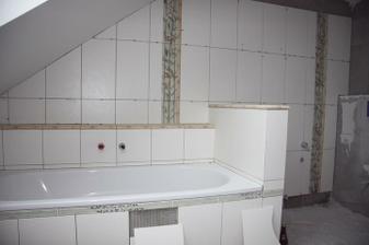 horní koupelna ve stádiu zrodu