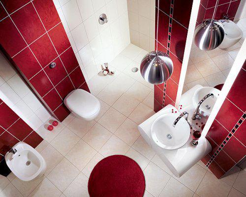 Začínáme....:-) - barevné pojetí koupelny