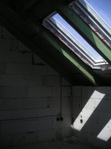 Začínáme....:-) - podkrovní ložnička:-)...jedna ze tří...
