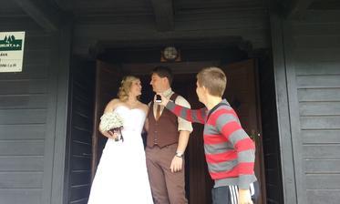 Interview hned mezi dveřmi :)