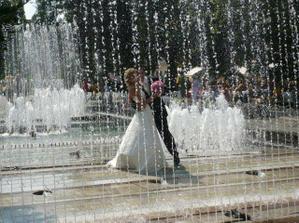 osvieženie vo fontáne