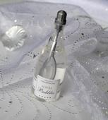Svadobné bublifuky šampanské,