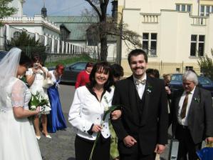 Moje maminka s mým budoucím manželem