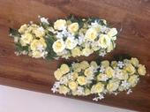 2ks ikebana na svadobny stôl,