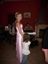 super muzikanti,moje svědkyně a malá už večer převlečená