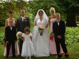 my dva,svědkyně,dcerka a její dva bratránci