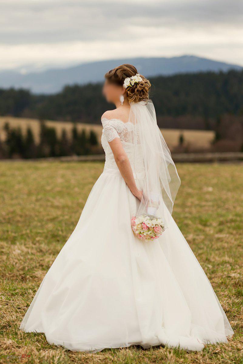 nádherné svadobné šaty, zn. Tina Valerdi - Obrázok č. 1