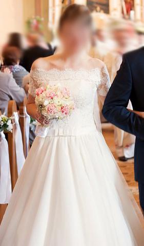 nádherné svadobné šaty, zn. Tina Valerdi - Obrázok č. 3