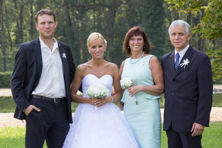 Lucka{{_AND_}}Ráďa - s mamkou, taťkou a bráškou :)